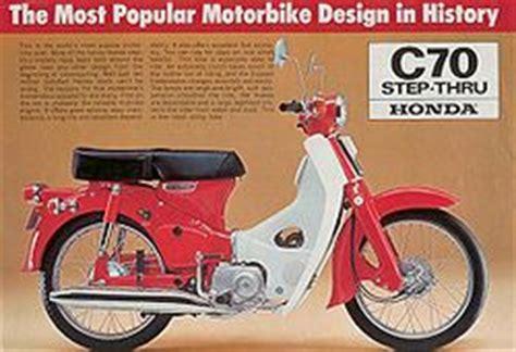 Honda C70 70cc Tahun 1971 honda c70 cyclechaos