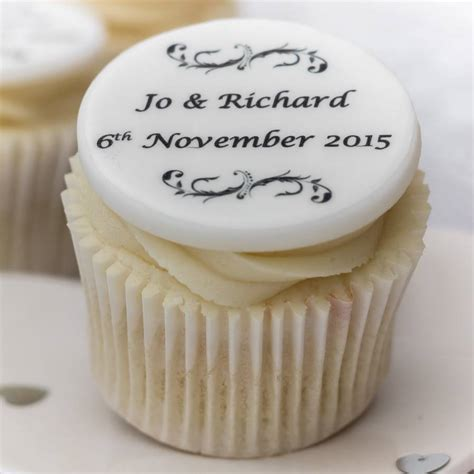 wedding cupcake decorations by just bake