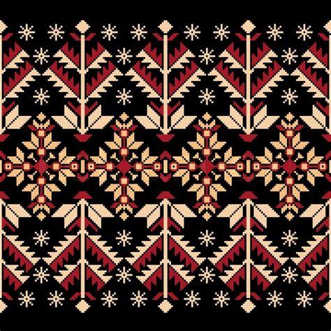 folk art pattern vector vector illustration of ukrainian folk seamless pattern