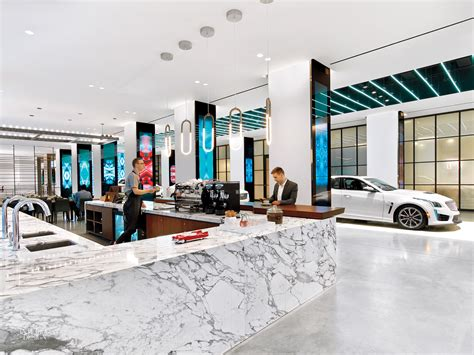 Cadillac House by Gensler: 2016 Best of Year Winner for Showroom