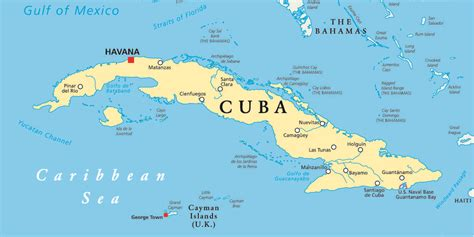 map of usa and cuba map of cuba and america images