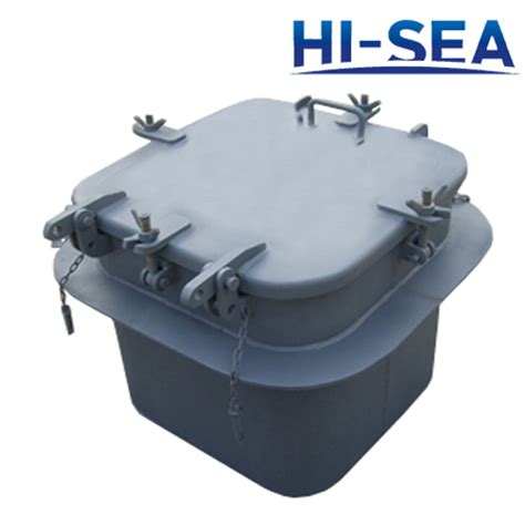 small boat hatch steel small size hatch cover type a supplier china marine