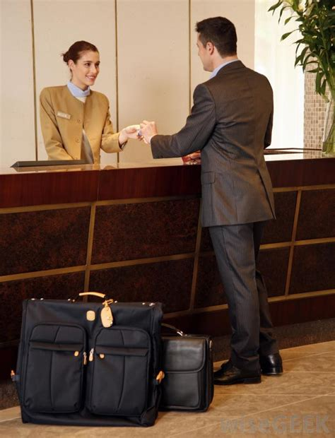 what is a hotel desk clerk with pictures