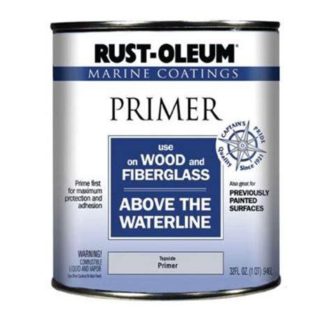rust oleum 1 qt marine coatings primer for wood and fiberglass discontinued 182705 the home depot