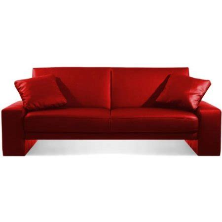 red sofa bed manhattan red sofa bed