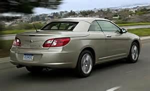 Chrysler 2008 Sebring Car And Driver