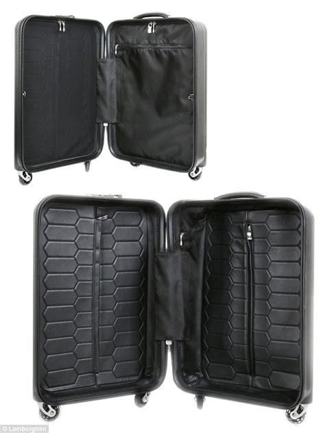 Lamborghini Suitcase Lamborghini And Tecknomonster Create 16 000 Carbon Fibre
