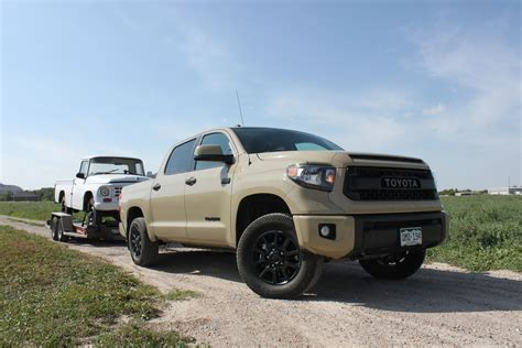 Toyota Tundra Trucks Towing With A 2016 Toyota Tundra Trd Pro