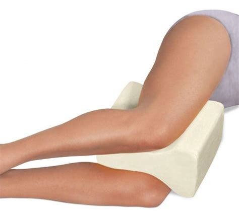 Pillow Hips Back by Contour Memory Foam Leg Pillow Orthopaedic Firm Back Hips