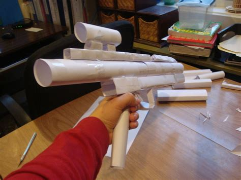 How To Make A Paper Wars Gun - wars gun made of paper