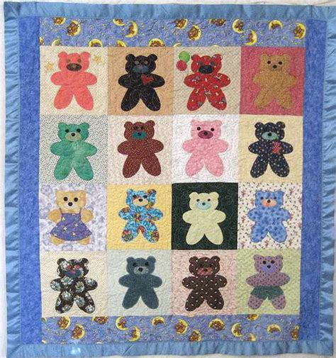 Free Baby Quilt Applique Patterns by Quilting Patterns Free Applique Images