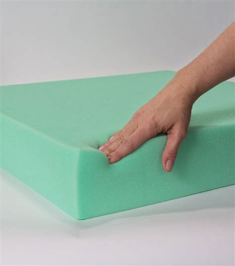 joann upholstery foam extra support cushion foam 18x18x2 jo ann