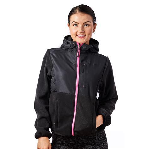 Jaket Zipper Twotone alta s two tone zip fleece jacket colors ebay