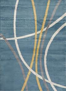 Yellow Outdoor Rug 8x10 Modern Area Rug Blue Yellow Grey White Stripes 8x10 Carpet Contemporary Ebay