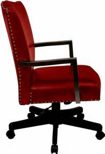 traditional crimson red desk chair bp mgtc ec19