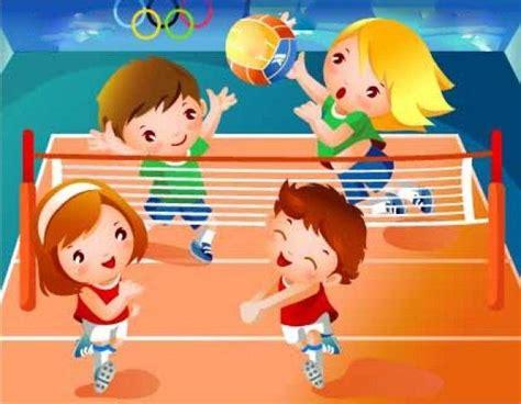 google imagenes niños jugando ni 241 as jugando voleibol animado buscar con google i