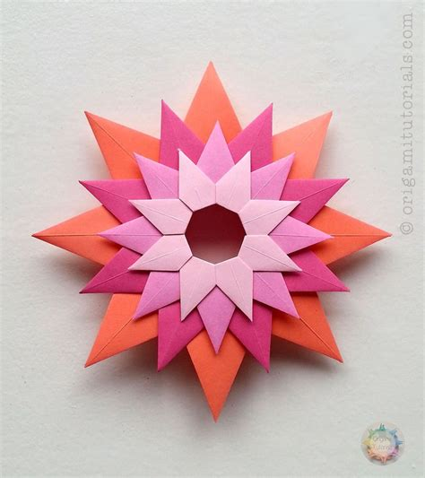 Best Modular Origami - the 25 best modular origami ideas on origami