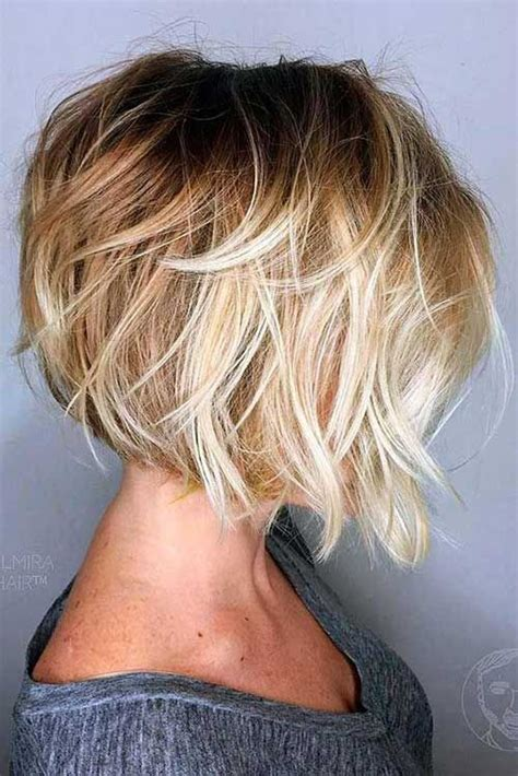 long bob angled hairstyles graduated layers 18 geschichteten bob frisur hair pinterest bob