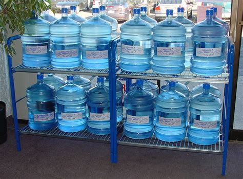 Shelf Of Water purifying and storing water for emergency prepardness american preppers network american