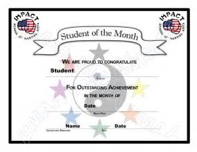 free student of the month certificate templates student of the month certificate www imgkid the