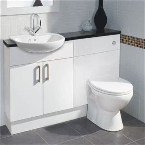 Fitted Bathroom Furniture White Gloss Balterley White Gloss Compact Fitted Bathroom Furniture For My New Home