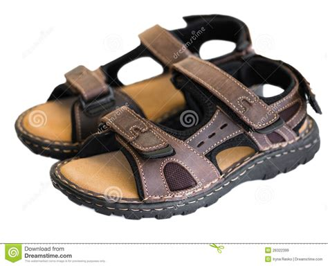 sandal photo pair of sandals stock image image of protection comfort