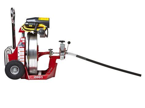 Spartan Plumbing Equipment by Model 2001 Drain Cleaning Machine Spartan Tool