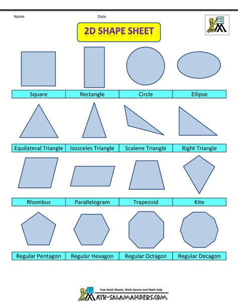 printable math shapes charts model on geometric shape of mathematics new calendar