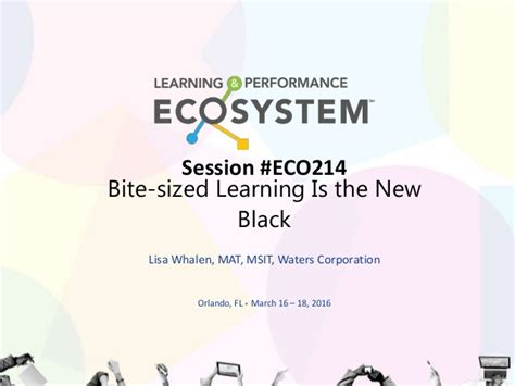 Sragam Fl Corporate Bri Size S bite sized learning is the new black