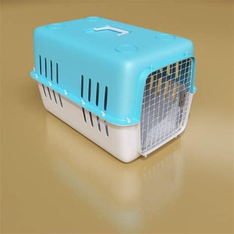 Box Pets 3d pet transport box model
