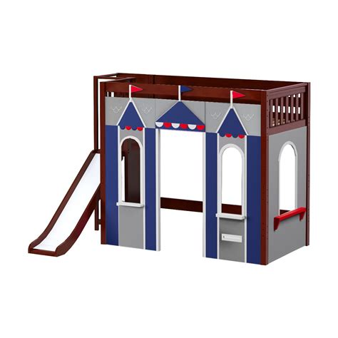 Gir Set Cs1 Khusus maxtrixkids stadium44 cs play house high loft with platform ladder and slide
