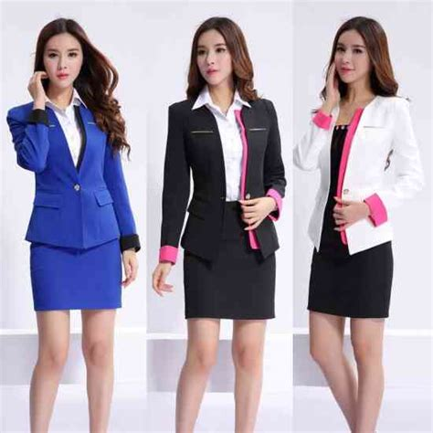 gambar design jas wanita fotos de uniformes ejecutivos corporativos e industriales