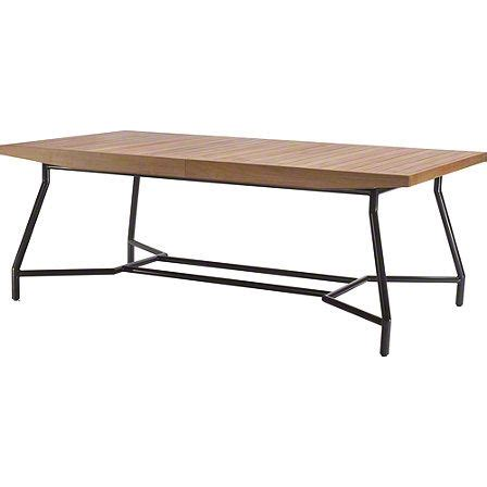 dining table mcguire furniture dining table