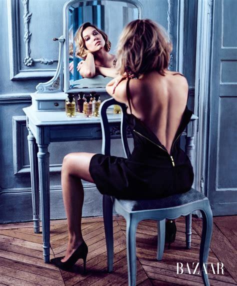 lea seydoux speaking french l 233 a seydoux harper s bazaar september 2016 photoshoot