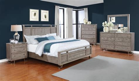 Lafayette Bedroom Set 5 Pcs by 5 Pc Set 205191kw S5 Bedroom Sets Price Busters