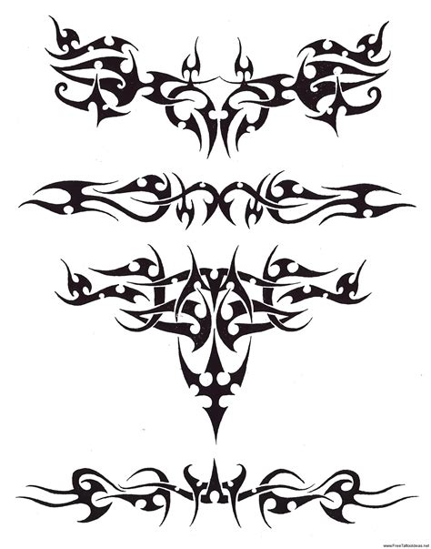 tribal band tattoos designs armband tattoos