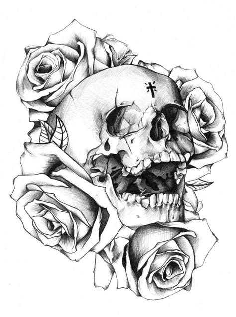 skull and rose tattoos tumblr skulls and roses drawings skulls and roses drawings skull