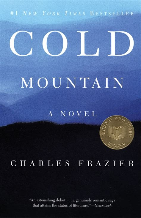 a cold cold books cold mountain by charles frazier books i read