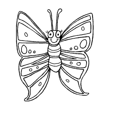 butterfly in coloring pages