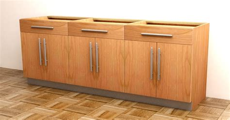 build a kitchen cabinet how to build frameless base cabinets
