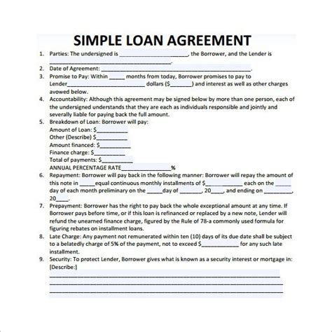 Loan Agreement Letter Exle Get Calendar Templates Collection Of 2017 Printable Calendars In Pdf Word Excel Part 3