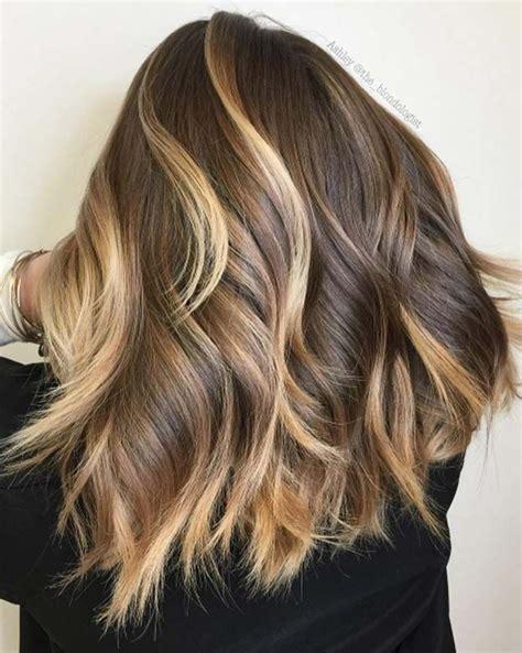 dark brown hair with blonde highlights diy best 25 brunette blonde highlights ideas on pinterest