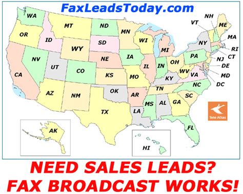 us area code 877 fax broadcast sales leads fax lists fax blast pricing