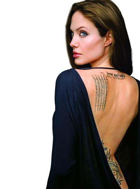 tattoo like angelina jolie angelina jolie with thailand tattoo angelina jolie