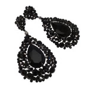 black earrings for large black teardrop shaped earrings black earrings