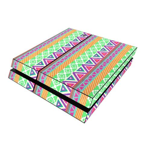 ps4 console tribe sony ps4 skin tribe by boothe decalgirl