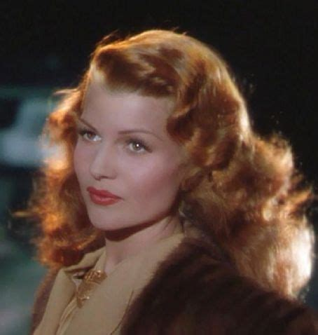 red head actress from 1940s rita hayworth and her magnificent fire red hair