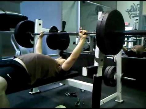 bench press fail bench press 225 fail youtube