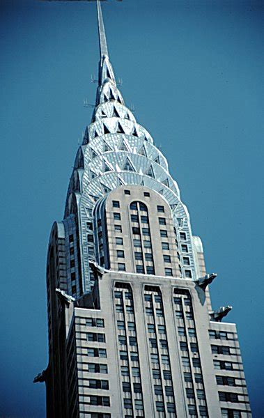chrysler building architecture deco arkiplus
