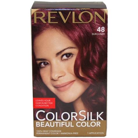 pictures of color silk decadent chocolate hair color revlon colorsilk haircolor dark mahogany brown 1 count